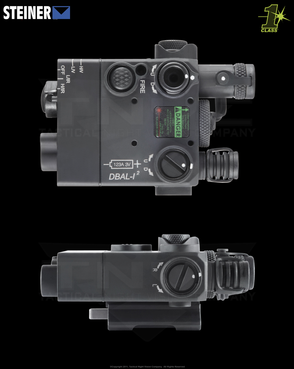 steiner dbal i class 1 ir laser tactical night vision company