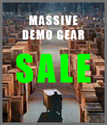 Demo Gear Sale